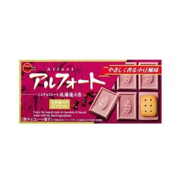 BOURBON Alfort Chocolate Cookie red bean adzuki