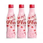 COCA COLA Japanese Sakura Design 2019 Spring Limited Edition Alu Slim Bottle