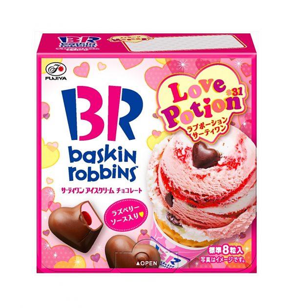 FUJIYA Baskin Robbins Love Potion 31 Chocolate - 38g