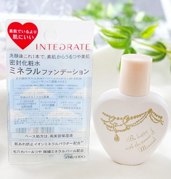 INTEGRATE by Shiseido Mineral Watery Foundation