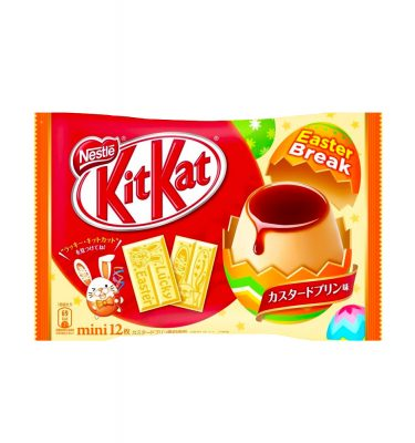 Kit Kat Lucky Easter Custard Pudding