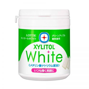 LOTTE XYLITOL White Gum Green Apple Made in Japan