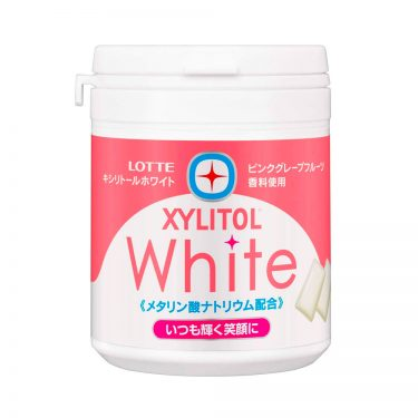 LOTTE XYLITOL White Gum Shine Mint Made in Japan