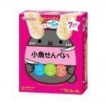 WAKODO Baby Snack Small Fish Rice Cracker from 7 Months - 2pcs x 6 in Box