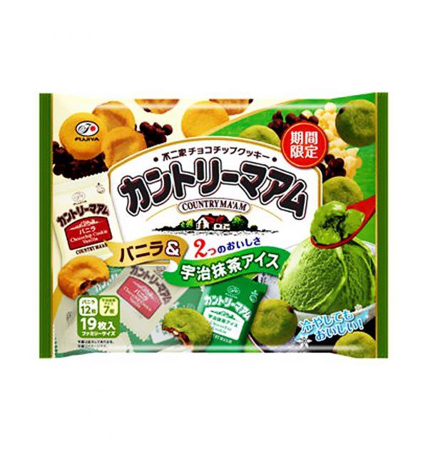 FUJIYA Country Ma'am Vanila & Uji Matcha Ice Cream - Limited Time Only 19pcs
