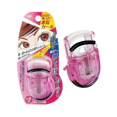 KAI Eyelash Push Up Curler Pink