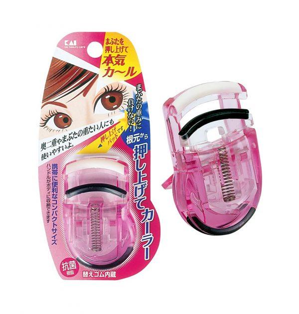 KAI Eyelash Push Up Curler Pink