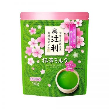 KATAOKA Tsujiri Matcha Milk with Sakura Flavour - 180g