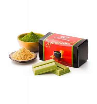 Kit Kat Chocolatory Special - Green Tea & Kinako Roasted Soybean