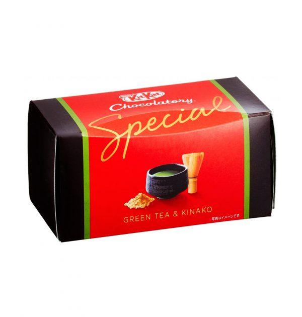Kit Kat Chocolatory Special - Green Tea & Kinako Roasted Soybean
