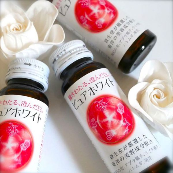 SHISEIDO Pure White Drinks Made in Japan