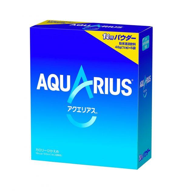 AQUARIUS Powder Exercise Fitness Sport Isotonic Drink Plain Vitamin