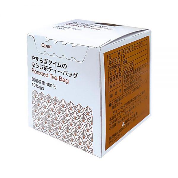 HARADA Genmai Cha Tea Bag 100% Japanese Shizuoka Tea Leaf - 10pcs x 10 Boxes