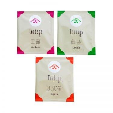 IPPODO Tea Bag Set 30 Bags - Gyokuro, Sencha & Hojicha