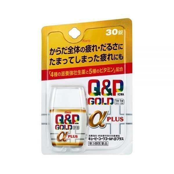 KOWA Q&P Kowa Gold α Alpha Plus - 30 Tablets