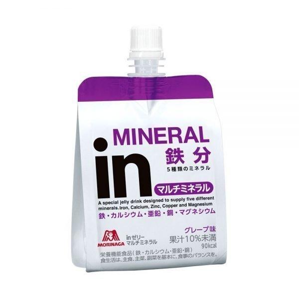 MORINAGA Weider Jelly Energy Drink Multimineral Grape Flavor
