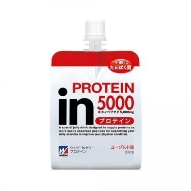 MORINAGA Weider Jelly Energy Drink Protein Yogurt Flavor