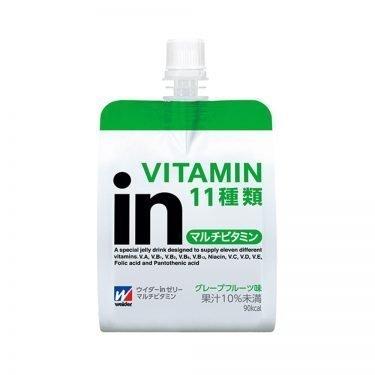 MORINAGA Weider Jelly Energy Drink Multivitamin Grapefruit Flavor