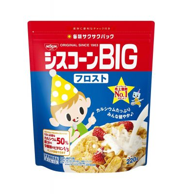 Nisshin Japan Cisco BIG Cereal Frost Made in Japan