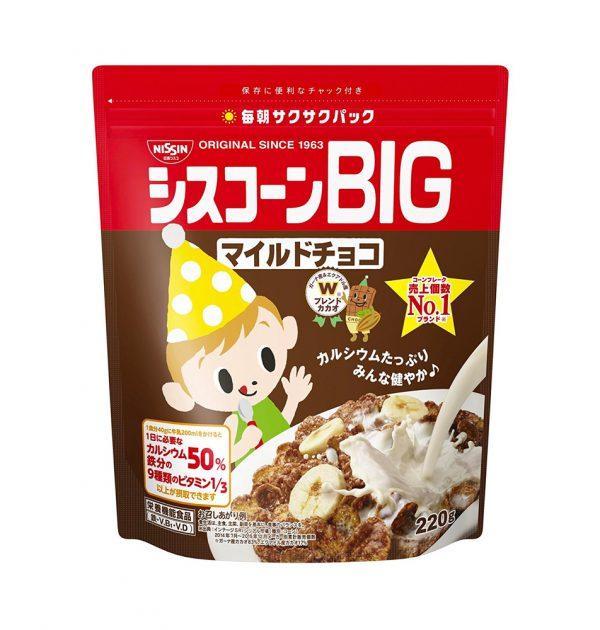 Nisshin Japan Cisco BIG Cereal Mild Chocolate Made in Japan