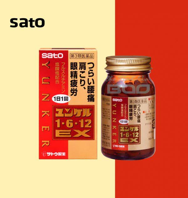 SATO Yunker 1・6・12 EX for Back Pain, Stiff Shoulder & Tired Eyes