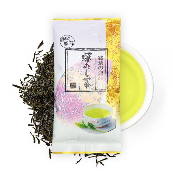 Shizuoka Deep Steamed Loose Green Tea Leaf Made in Japan