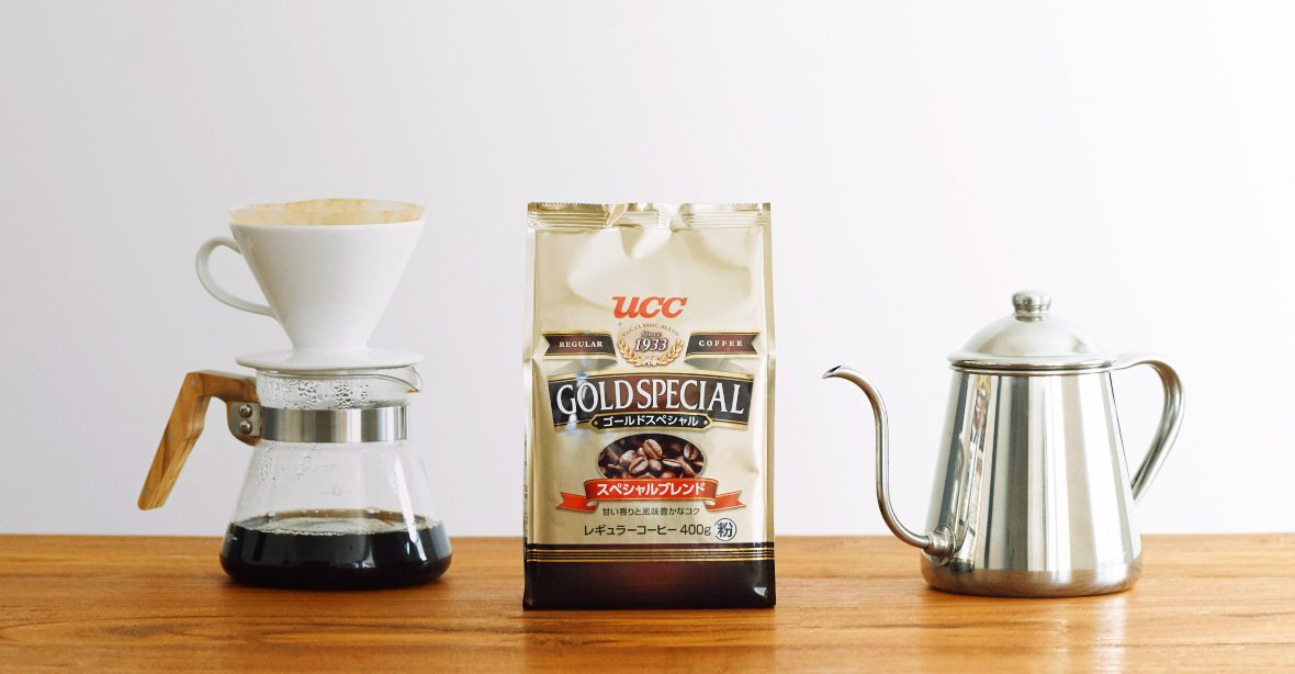 UCC Gold Special Drip Coffee Made in Japan