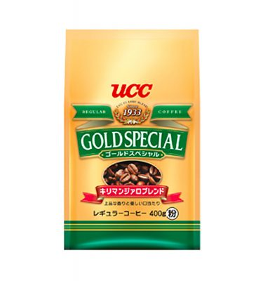 UCC Gold Special Drip Coffee Kilimanjaro Blend Made in Japan