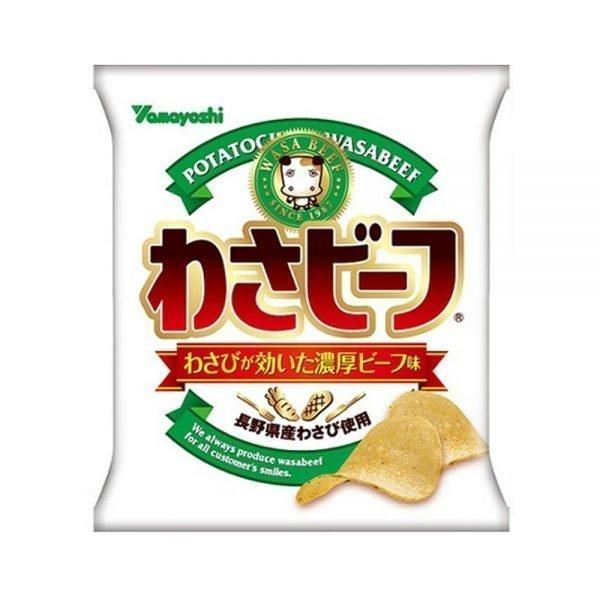 YAMAYOSHI Wasa Beef Wasabi & Beef Potato Chips - 55g