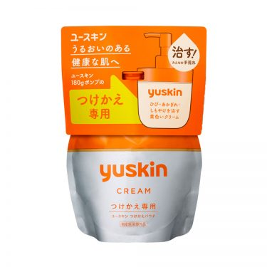 YUSKIN A-Series Body Cream For Dry Skin Pump Made in Japan