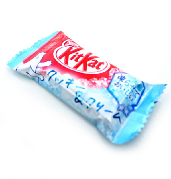 Kit Kat Cookie and Cream Made in Japan