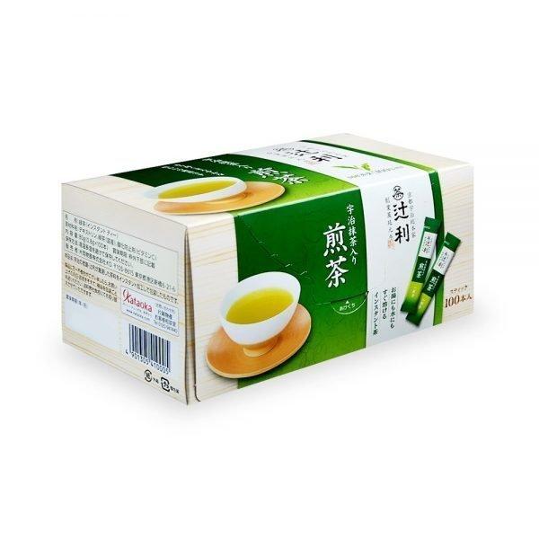 TSUJIRI Instant Sencha Japanese Green Tea with Matcha
