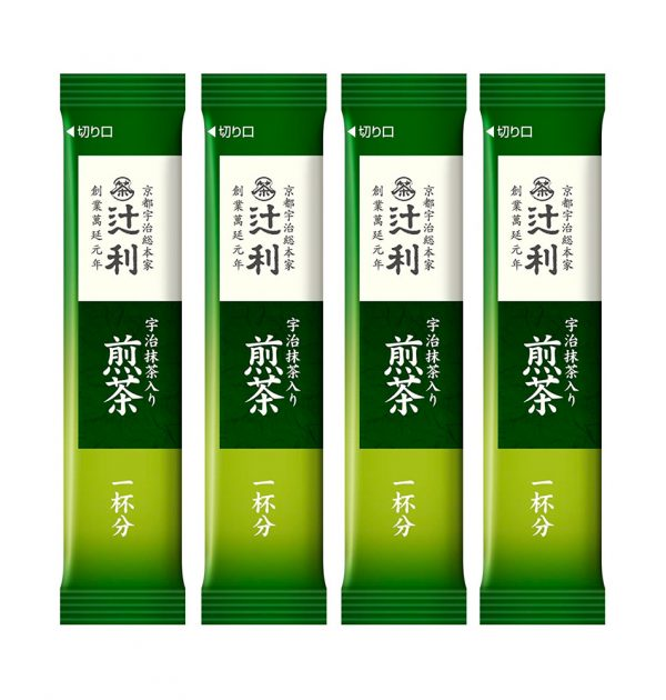 TSUJIRI Instant Sencha Japanese Green Tea with Matcha