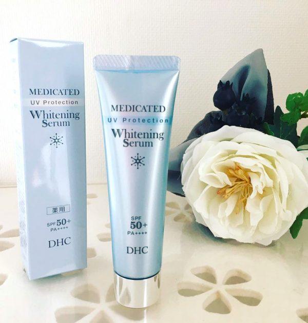 DHC Medicated Whitening Serum UV Made in Japan