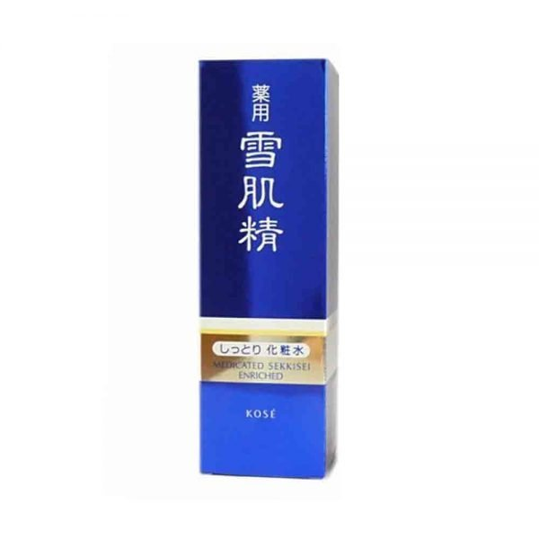 KOSE Sekkisei Enriched Lotion Made in Japan