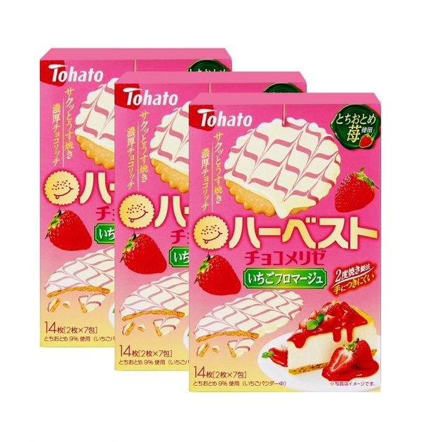 TOHATO Harvest Strawberry Cheesecake Made in Japan
