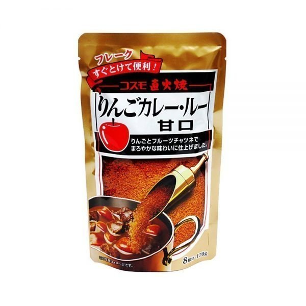 Cosmo Curry Chokuhi-sho Apple Curry Roux Sweet