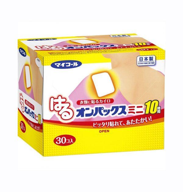 MY CALL Onpax Hand & Body Warmer Stick-on Type 10hrs - Mini 30pcs
