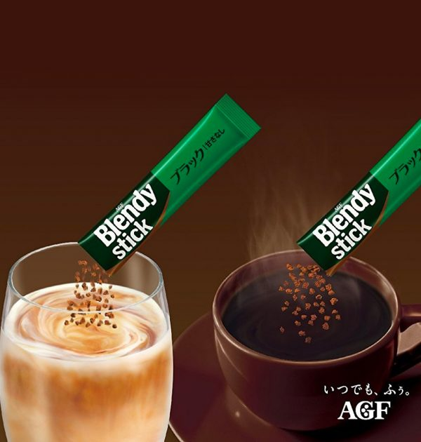 AGF BLENDY Mellow & Rich Instant Coffee Made in Japan
