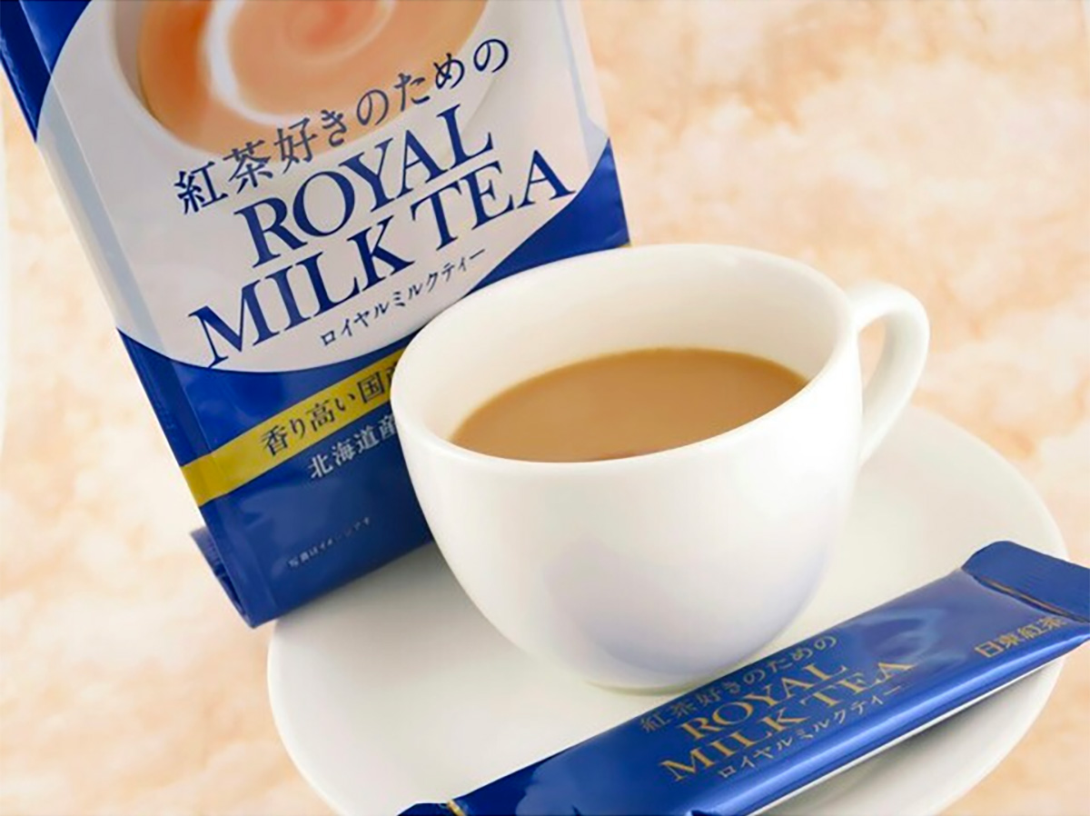 NITTOH KOCHA Royal Milk Tea Sachets Made in Japan