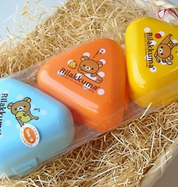 RILAKKUMA Onigiri Rice Ball Mold Shaper - 3pcs