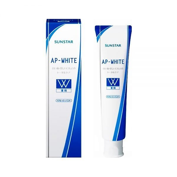 Sunstar Medicinal AP White Toothpaste refresh mint Made in Japan