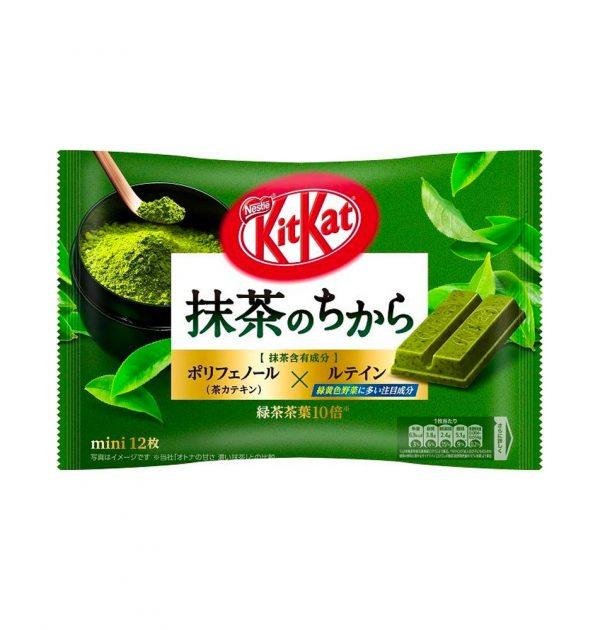 KIT KAT Mini Powder Green Tea Available Only in Japan
