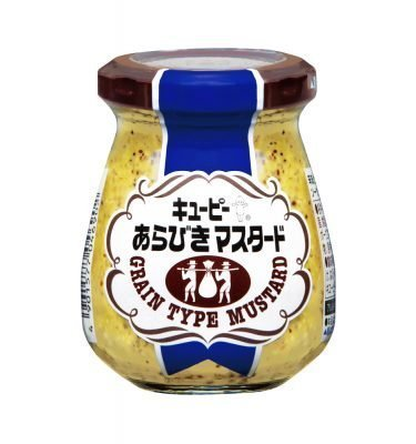Kewpie Arabiki Grits Grain Type Mustard Made in Japan