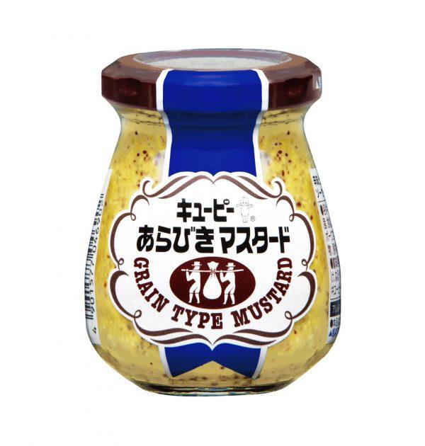 Kewpie Arabiki Grits Grain Type Mustard Made in Japan