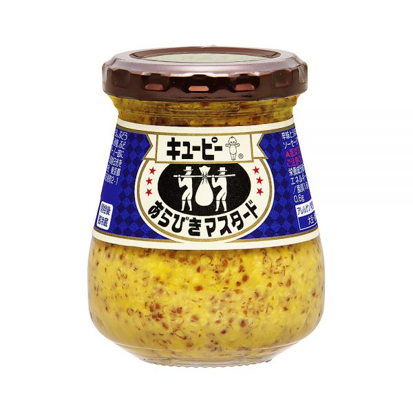 Kewpie Arabiki Whole Grain Mustard Made in Japan
