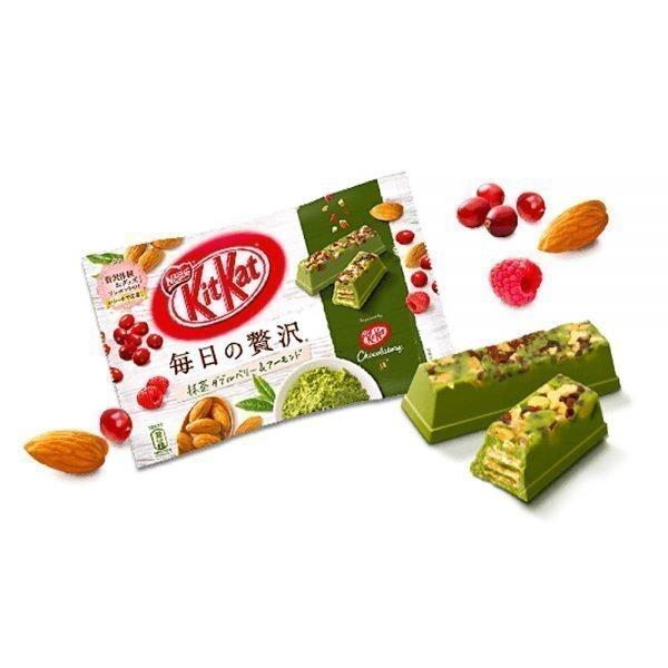 Kit Kat Matcha Chocolatory Bar with Cranberry & Almond
