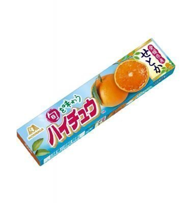 MORINAGA Hi-Chew Orange Flavour Made in Japan