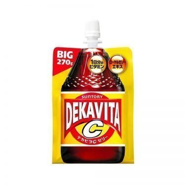 Suntory Dekavita C Jelly Energy Drink Made in Japan