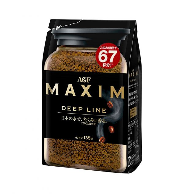 AGF Maxim Deep Line Instant Coffee Made in Japan